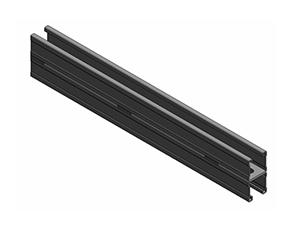 管廊支架带背孔双拼槽钢