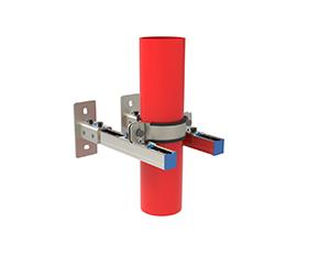 双立柱立管抗震支架