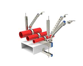 综合系统双向抗震支架
