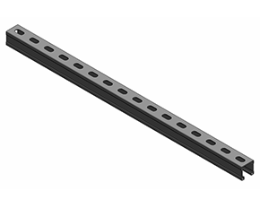 管廊支架带背孔槽钢